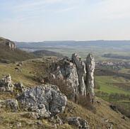 Joggingtour von Forchheim aufs Walberla und zurück