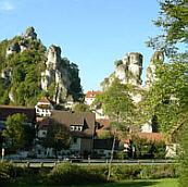 Jogging in der Fr�nkischen Schweiz