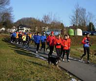 Vom Coburger Wintermarathon 2006