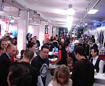 Eröffnungsparty bei Synergy Sports in Nürnberg am 8.3.06