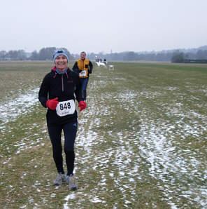 Vom Vollmondmarathon 2006 - Winteredition in Hersbruck