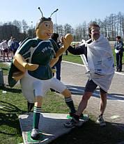 Bienwald - Marathon Kandel am 11.3.2007