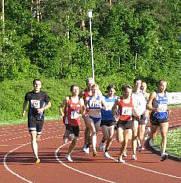 Erlanger Bahnlaufserie - 3000 Meterlauf am 19.05.2009
