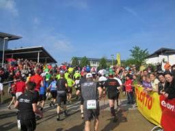 Rennsteig Marathon am 21.05.2011