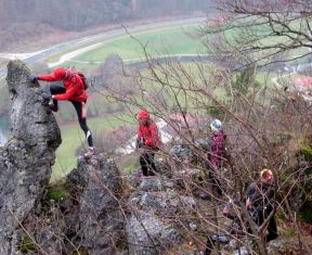 Genusslauf-Marathon Preloaded in der Fränkischen Schweiz am 17.11.2012