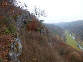 Blick vom J�gersteig aufs Wiesenttal beim Genusslaufmarathon Preloaded 2012
