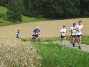 Run and Bike Marathon Coburg am 21.07.2012