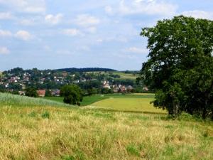 Blick auf Oberwittstadt