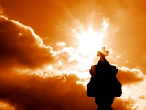 Morgenlicht beim Landesorientierungslauf 2014 Tag 5