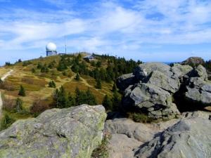 Joggingtour am 18.09.2014 im Bayerischen Wald von Bodenmais zum Arber