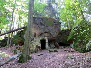 Joggingtour durch die Hassberge von Ebern nach Ebelsbach am 04.09.2015