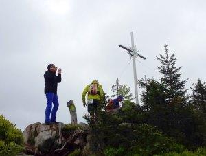Der K�nig im Bayerwald beim Ultratrail Lamer Winkel 2015