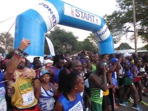 Victoria Falls Marathon 2018
