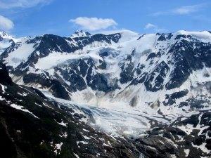 Hochalpine Landschaft beim Pitztal Trail 2013